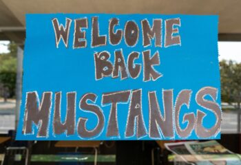Welcome Back Mustangs August 11, 2021