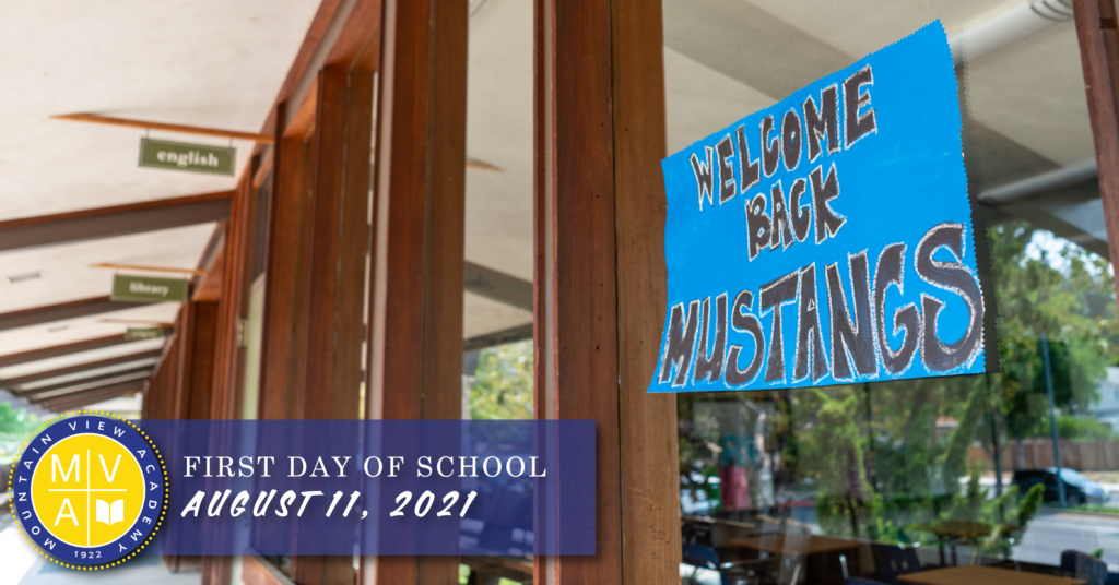 MVA First Day of School August 11, 2021